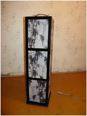 Как сделать                                              светильник  в  китайском  стиле самому