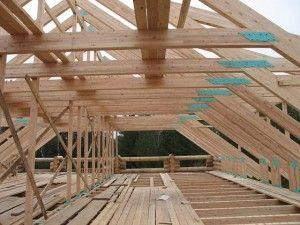 Стропильные конструкции крыш