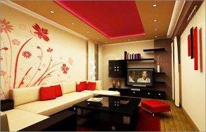 Потолок в комнате: дизайнерские советы