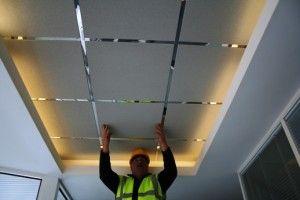 Основы и правила монтажа подвесного потолка