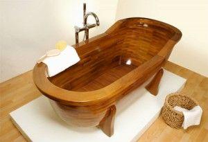 Новый взгляд на деревянную ванну