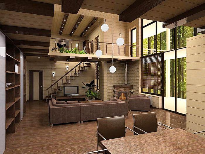 Интересный дизайн квартиры