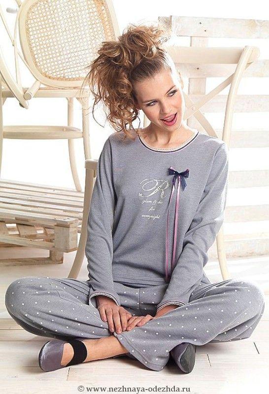 Частные фото девушек в пижаме 19 фотография
