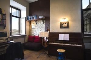 интерьер для музыкантов