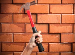 Как разобрать стену